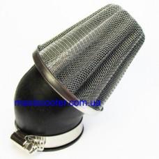"""SHHY - спортивний повітряний фільтр c нахилом 45 градусів, """"нульового"""" опору. Діаметр 58-60 мм"""