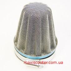 """SHHY - спортивний повітряний фільтр, """"нульового"""" опору. Діаметр 57-60 мм"""
