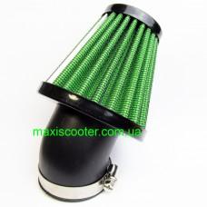 """RAD - cпортивний повітряний фільтр, """"нульового"""" спротиву. Діаметр = 42 мм, зелений"""