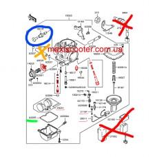 Ідеальний ремонтний комплект карбюратора скутера, мотоцикла, квадроцикла