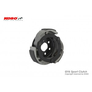 Спортивная плата сцепления KOSO Sport clutch - GY6, 152QMI, 157QMJ