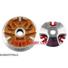 Спортивный вариатор NCY с тефлоновым покрытием - Yamaha Majesty 125, Cygnus 125, BWS 125, 615A015TYYELL2