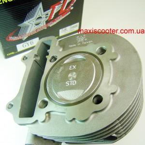 ЦПГ TAIDA 58,5мм - 160сс GY6, 152QMI, 157QMJ 2 клапана, високо-компресійний поршень
