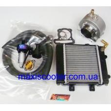 Комплект жидкостного охлаждения TAIDA 175сс - GY6, 152QMI, 157QMJ