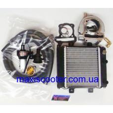 Комплект жидкостного охлаждения TAIDA 180сс - GY6, 152QMI, 157QMJ